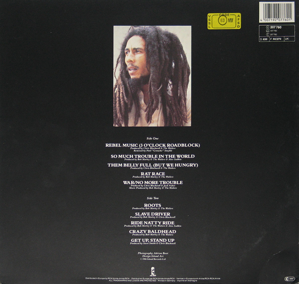 High Resolution Photo #11 bob marley rebel music