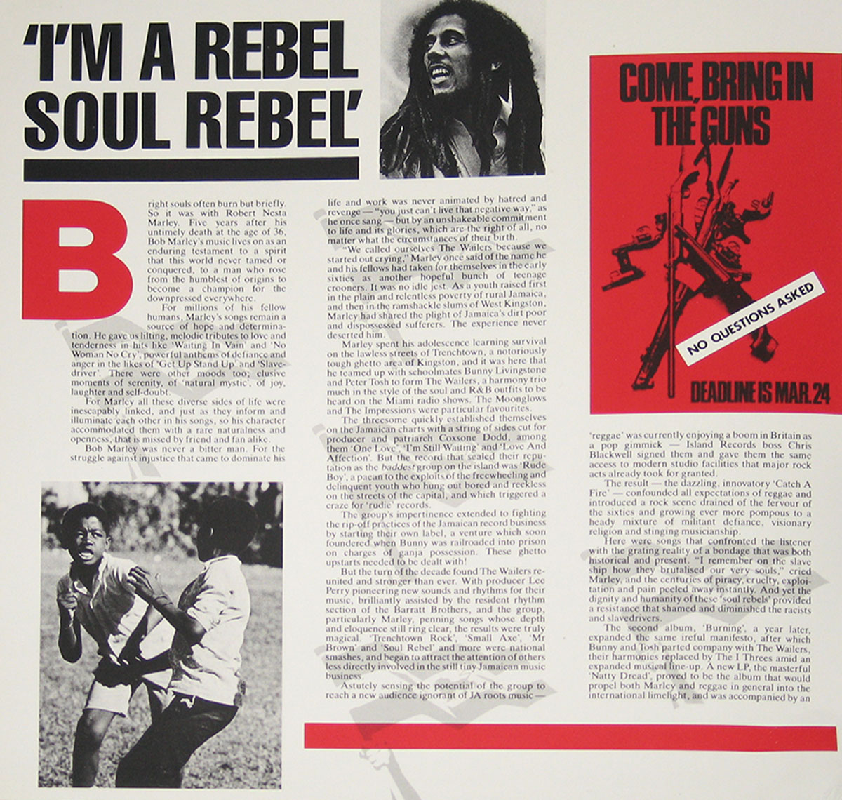 High Resolution Photo #12 bob marley rebel music