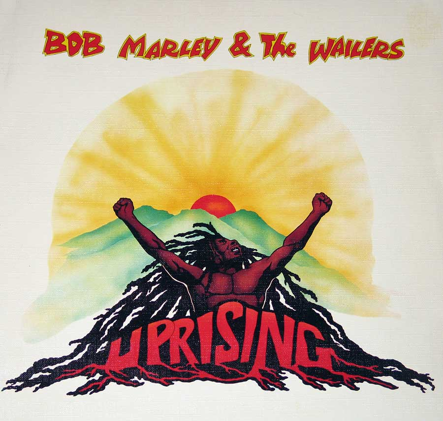 Large Album Front Cover Photo of BOB MARLEY & THE WAILERS - Uprising