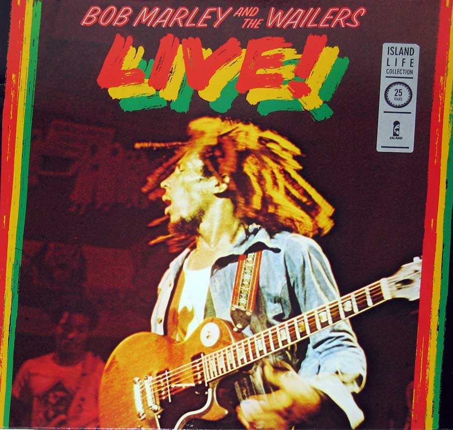 "BOB MARLEY & THE WAILERS - Wailers Live 12"" Vinyl LP Album front cover https://vinyl-records.nl"