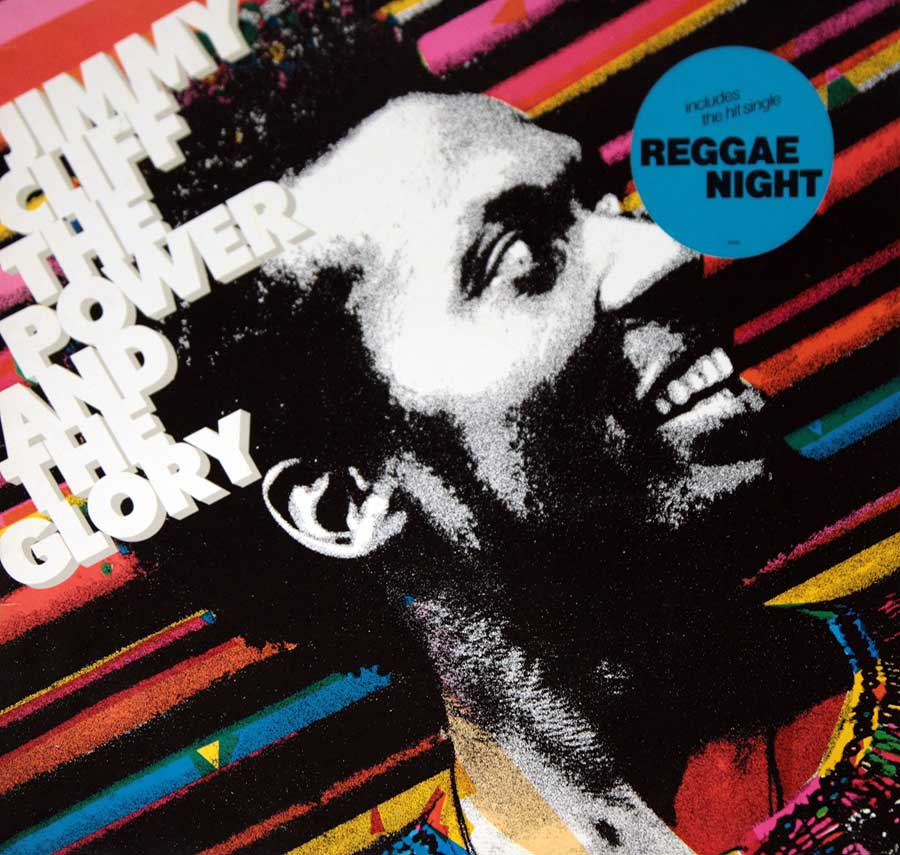 large photo of the album front cover of: JIMMY CLIFF The Power and the Glory