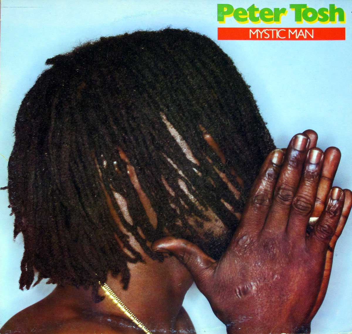Large Album Front Cover Photo of PETER TOSH - Mystic Man ( Italy )