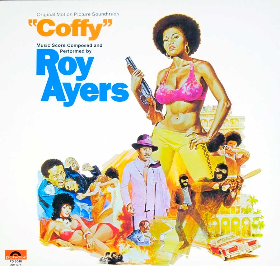 large photo of the album front cover of: Coffy Roy Ayers