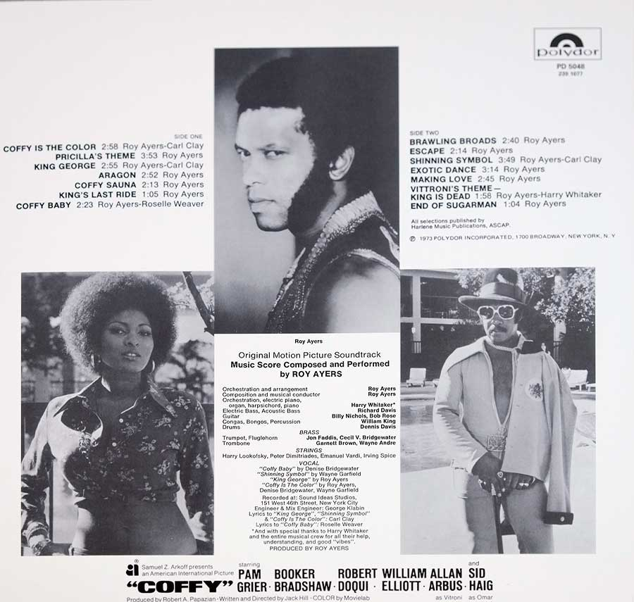 "High Quality Back Cover Photo of ""COFFY - Roy Ayers"""