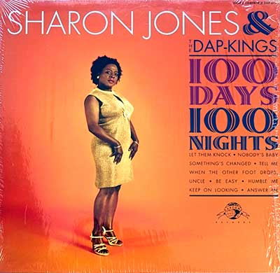 Thumbnail of SHARON JONES & THE DAP-KINGS - 100 Days, 100 Nights album front cover