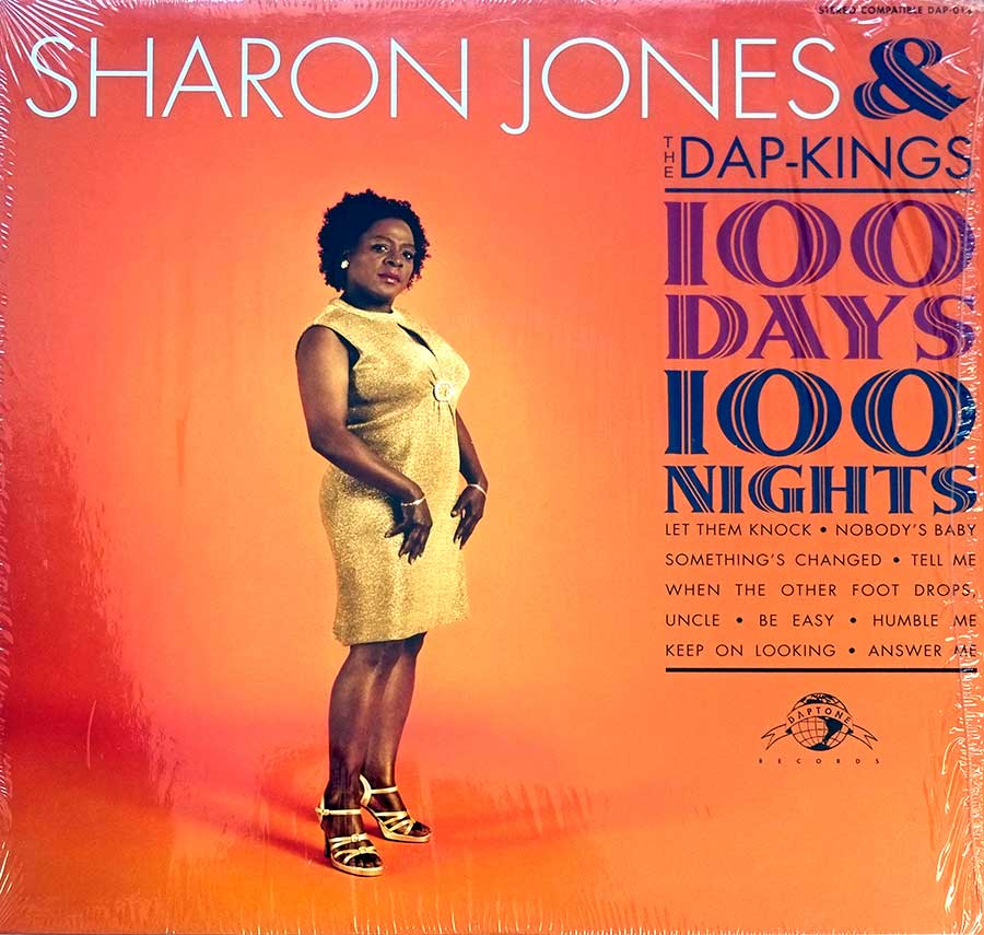 Front Cover Photo Of SHARON JONES & THE DAP-KINGS 100 Days, 100 Nights