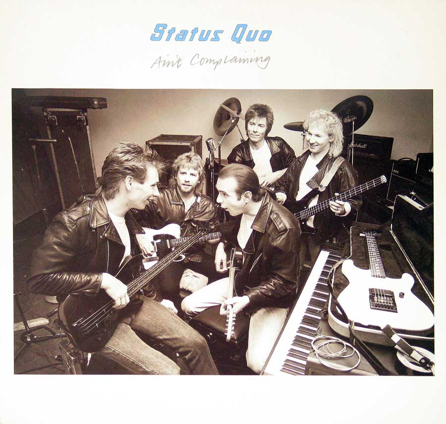 large photo of the album front cover of: Status Quo Ain't Complaining
