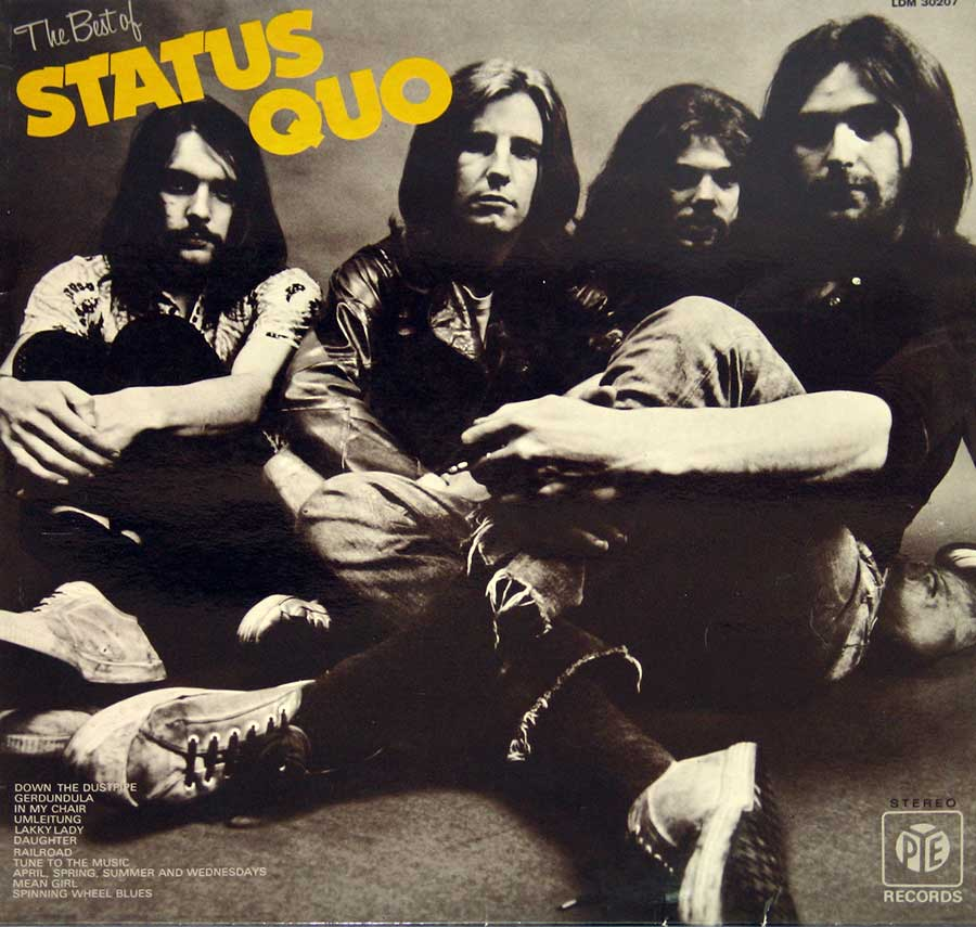 large photo of the album front cover of: Best of Status Quo