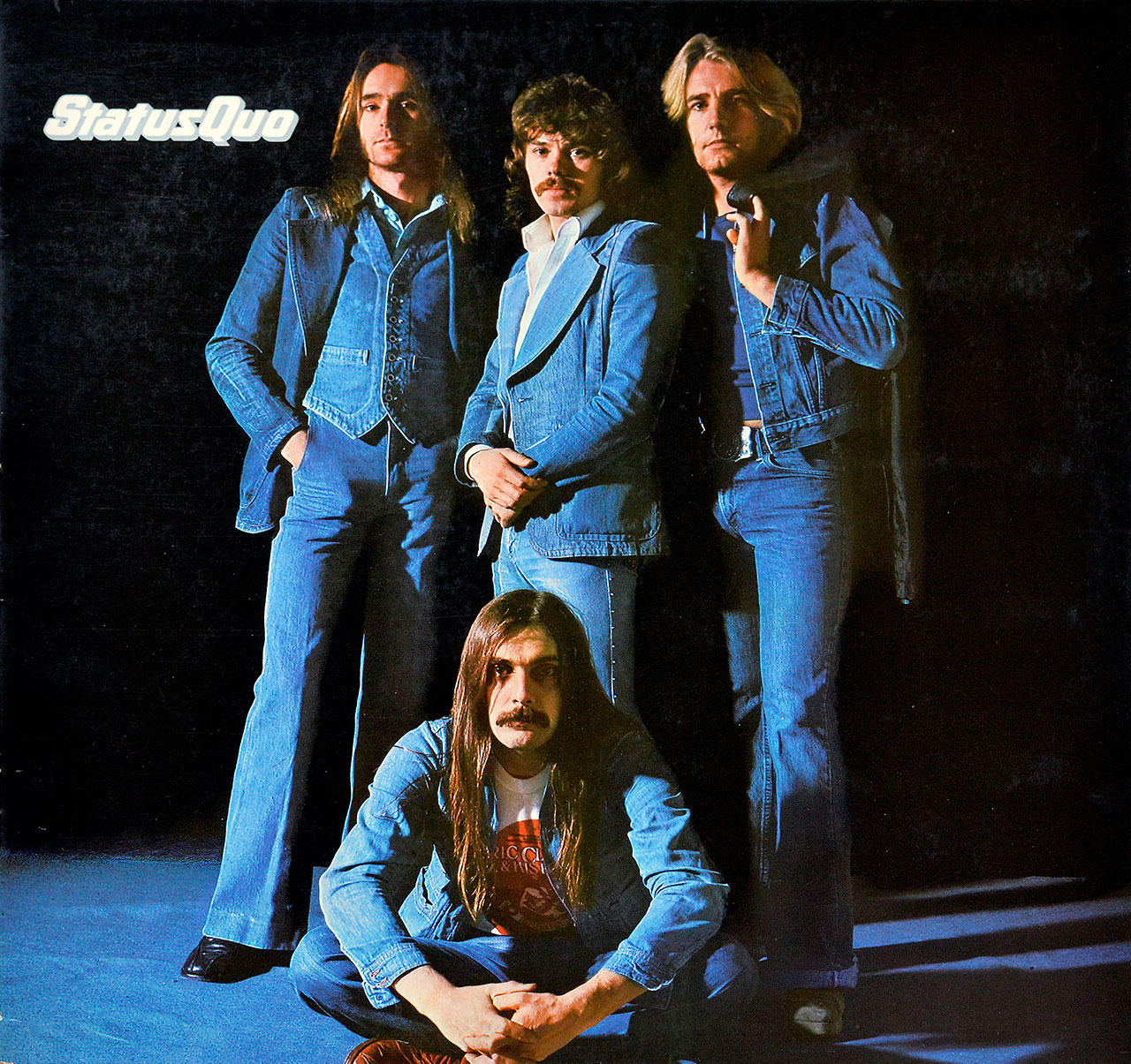 Album Front Cover Photo of STATUS QUO - Blue For You