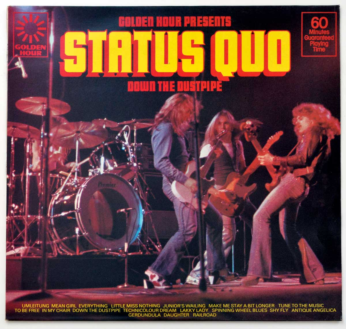 Album Front Cover Photo of STATUS QUO - Down The Dustpipe