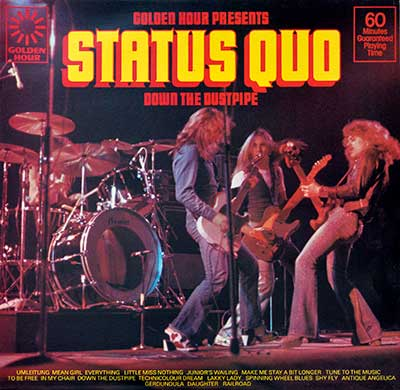 "Thumbnail Of  STATUS QUO - Down The Dustpipe 12"" Vinyl LP album front cover"