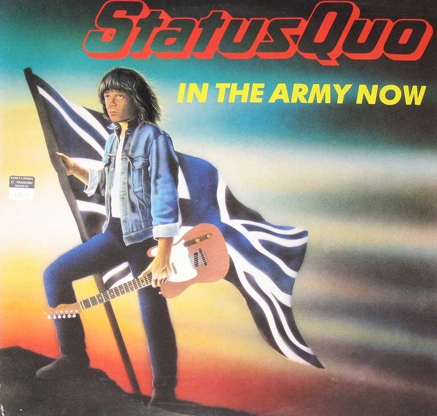 large album front cover photo of: Status Quo You Are in the Army now