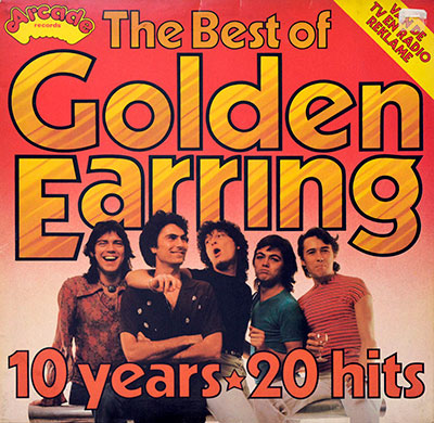 "Thumbnail of GOLDEN EARRING - The Best Of Golden Earring 10 Years 20 Hits 12"" Vinyl LP Album album front cover"