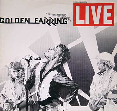 "Thumbnail of GOLDEN EARRING - Live ( Double LP ) 12"" 2LP Vinyl Album album front cover"