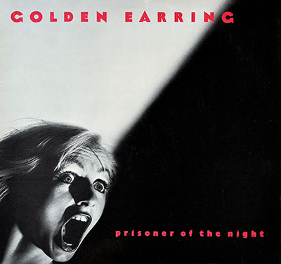 "Thumbnail of GOLDEN EARRING - Prisoner Of The Night 12"" Vinyl LP Album  album front cover"