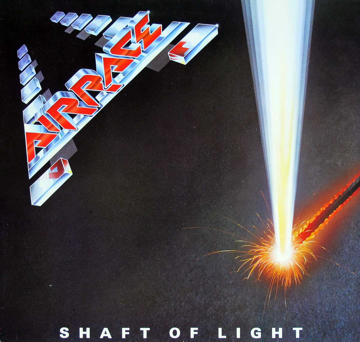 large photo of the album front cover of: AIRRACE SHAFT OF LIGHT