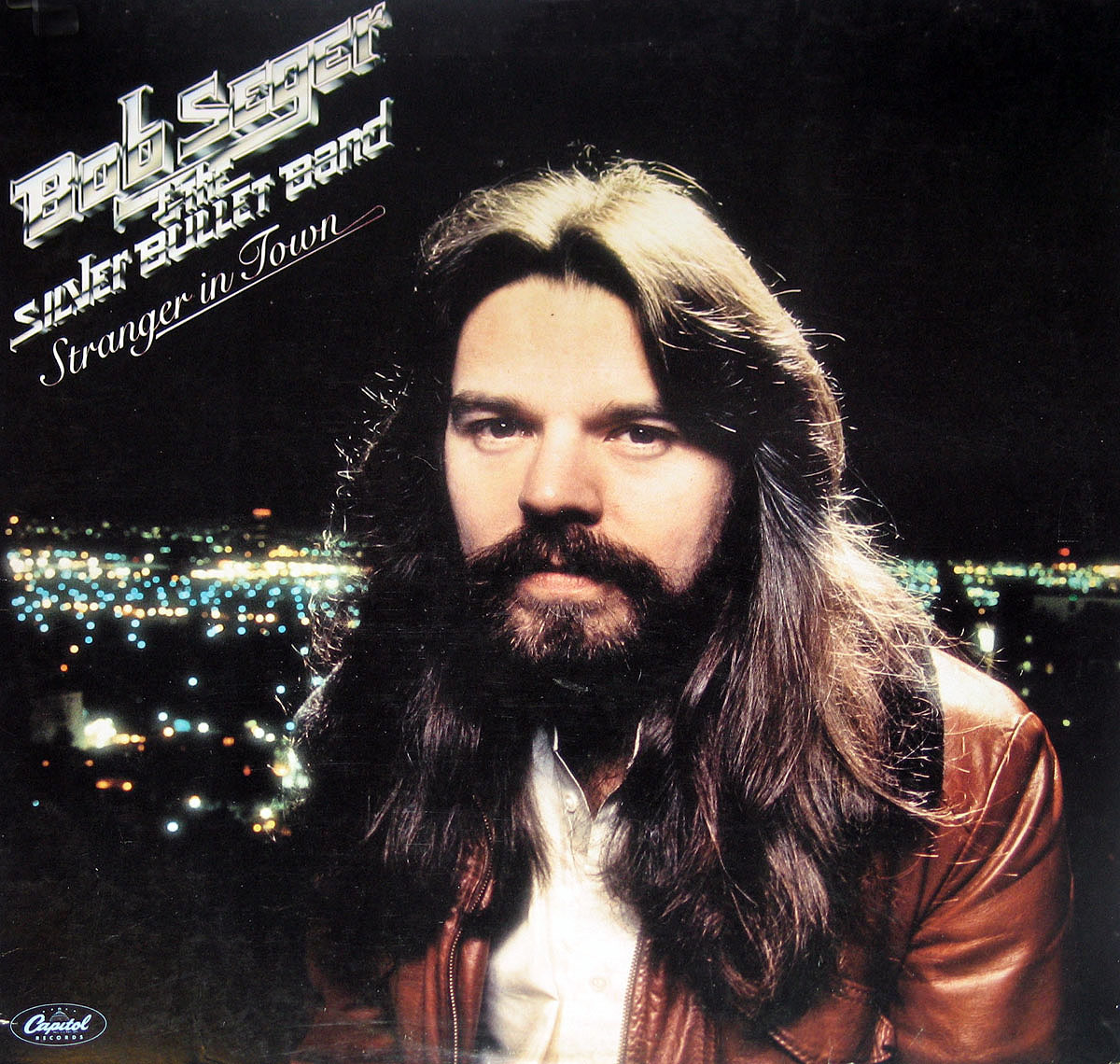 High Resolution Photo #1 BOB SEGER Stranger in Town