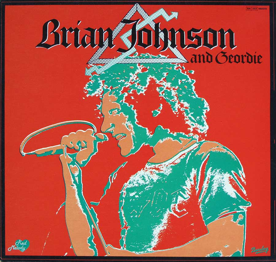 "BRIAN JOHNSON AND GEORDIE BARCLAY French Release 12"" LP VINYL ALBUM  front cover https://vinyl-records.nl"