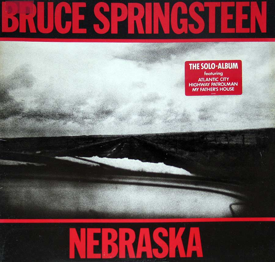 Front Cover Photo Of BRUCE SPRINGSTEEN - Nebraska