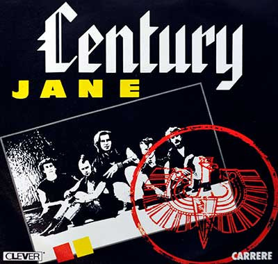 "Thumbnail Of  CENTURY - Jane 7"" Single  album front cover"