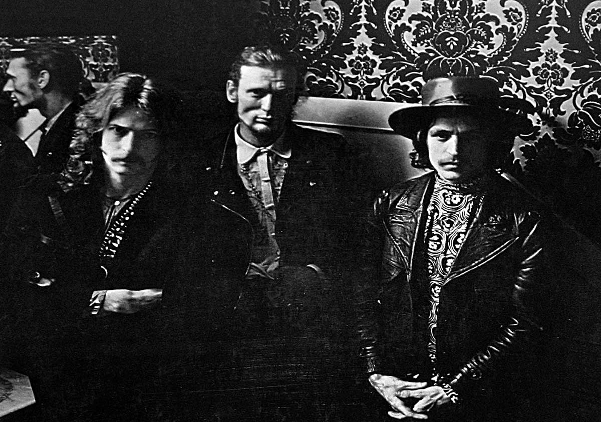 Large Hires Photo of the CREAM Band