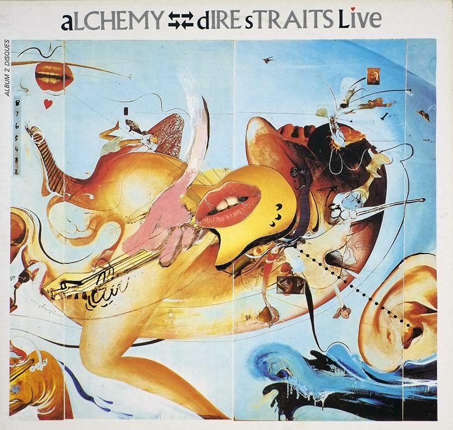 DIRE STRAITS Alchemy Live 2LP British Soft Rock Vinyl Album Gallery  #vinylrecords