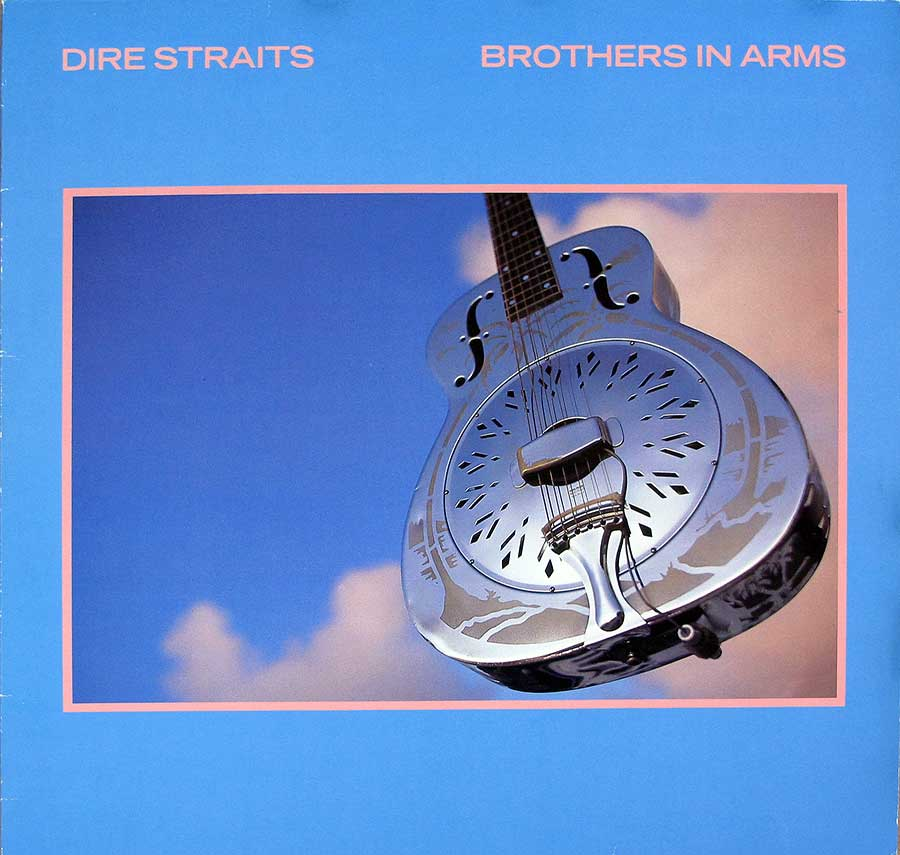 "DIRE STRAITS - Brothers in Arms West Germany 12"" VINYL LP ALBUM album front cover"