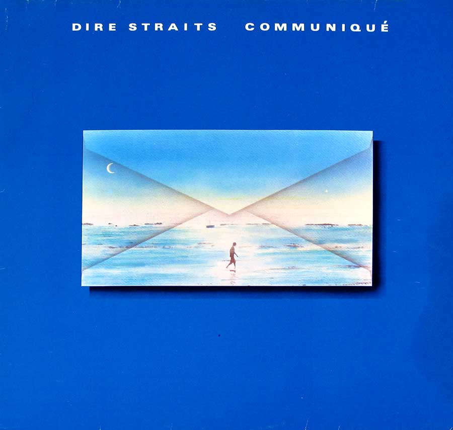 "DIRE STRAITS - Communique Germany Release 12"" LP VINYL ALBUM front cover https://vinyl-records.nl"