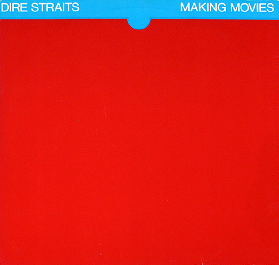 "High Quality Photo of Album Front Cover  ""DIRE STRAITS - Making Movies Orig USA"""