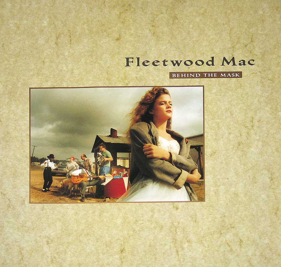 Front Cover Photo Of FLEETWOOD MAC - Behind The Mask