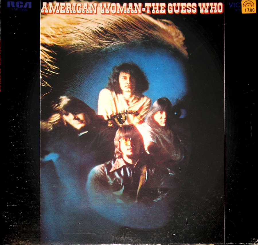 "GUESS WHO - American Woman, Gatefold Dynagroove 12""VINYL LP ALBUM  front cover https://vinyl-records.nl"