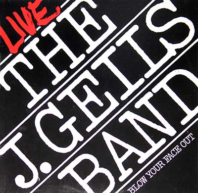 "Thumbnail of THE J. GEILS BAND - Blow Your Face Out, Live 12"" Vinyl 2LP Album album front cover"