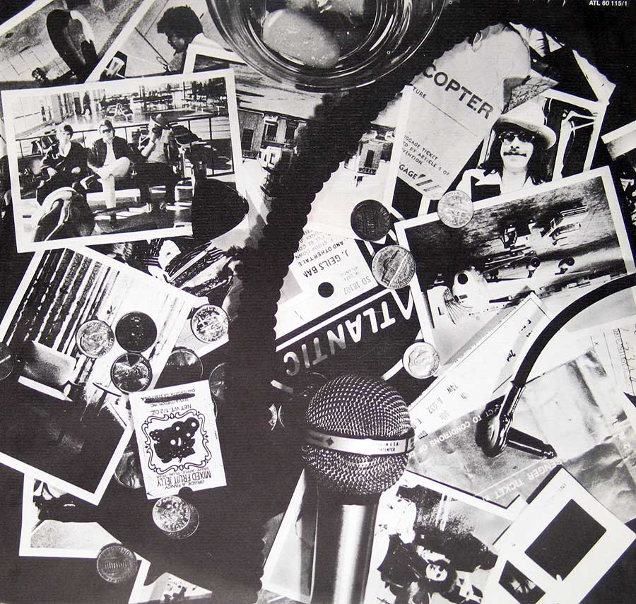 Photo of album back cover J. Geils Band - Blow Your Face Out, Live