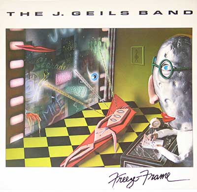 "Thumbnail of THE J. GEILS BAND - Freeze Frame 12"" Vinyl LP Album  album front cover"