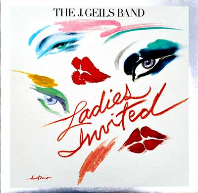 "Thumbnail of THE J. GEILS BAND – Ladies Invited 12"" Vinyl LP Album   album front cover"