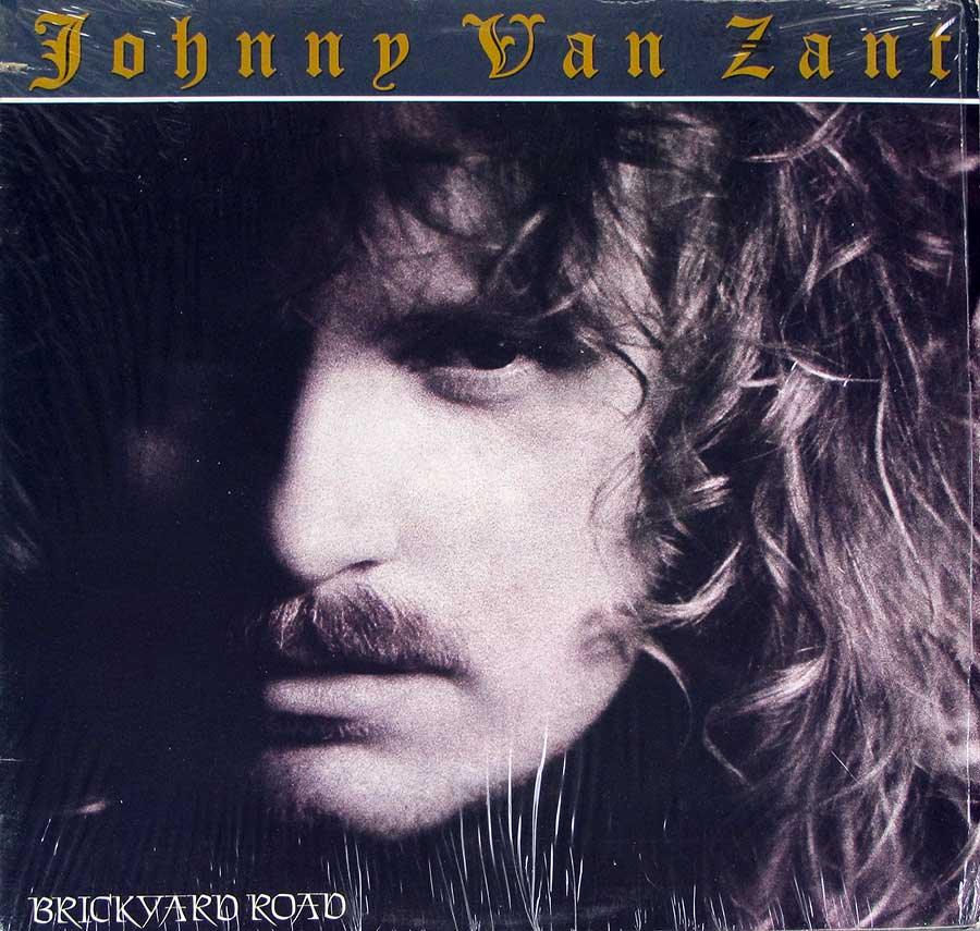"JOHNNY VAN ZANT - Brickyard Road 12"" LP VINYL ALBUM front cover https://vinyl-records.nl"