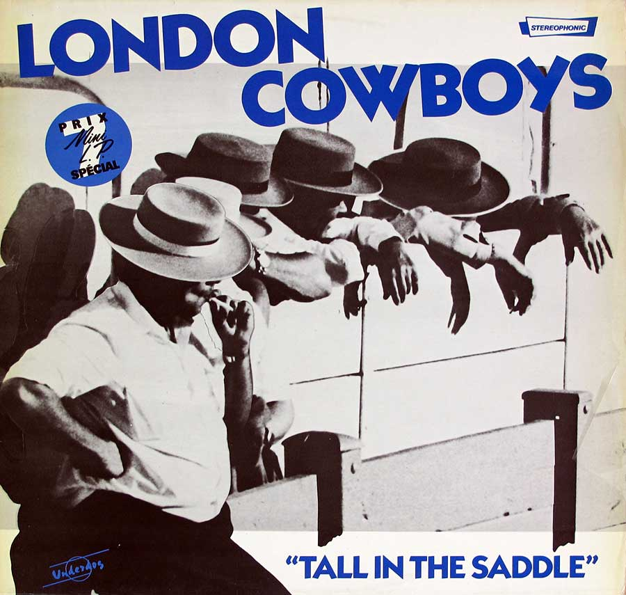 "LONDON COWBOYS - Tall In The Saddle 12"" LP VINYL ALBUM front cover https://vinyl-records.nl"