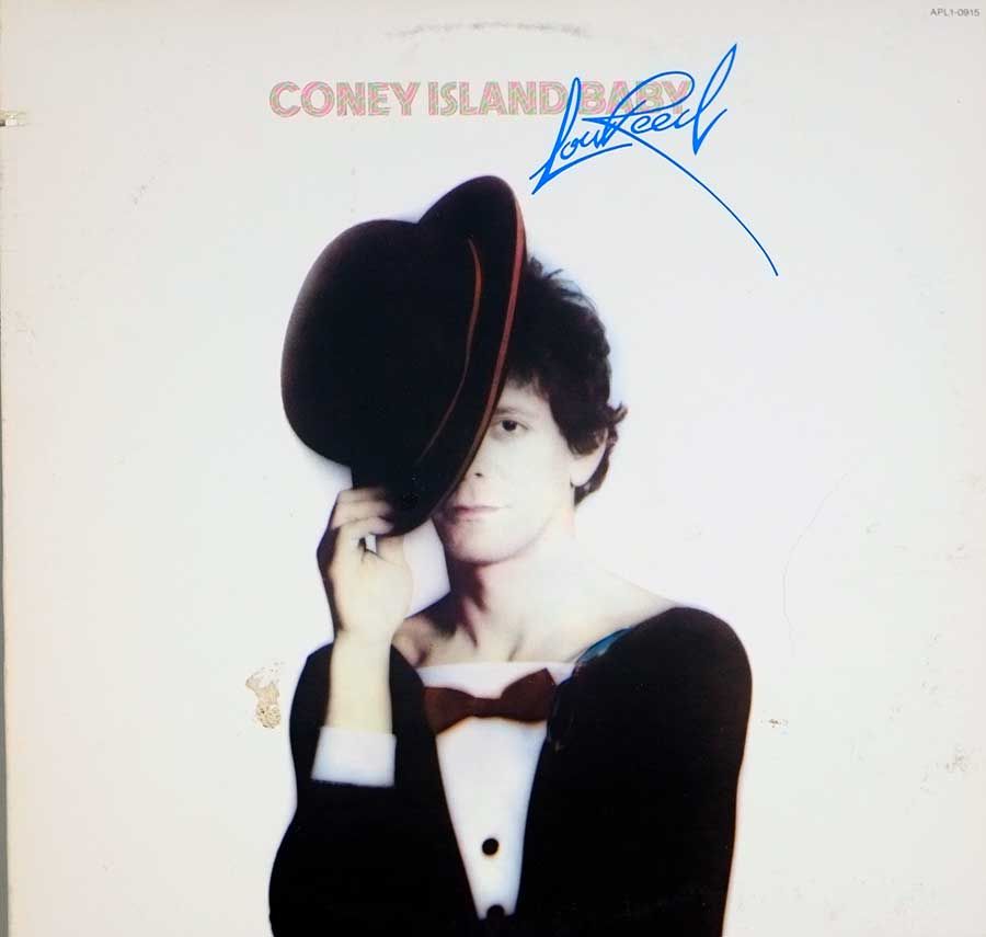 "LOU REED - Coney Island Baby RCA USA Release 12"" LP Vinyl Album front cover https://vinyl-records.nl"