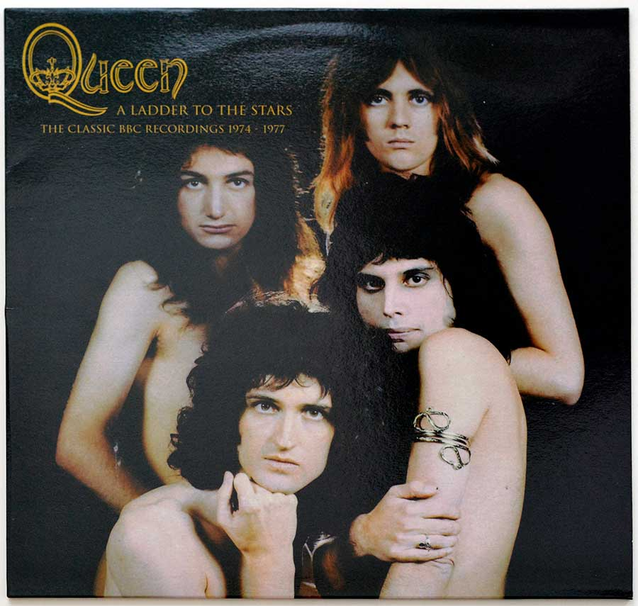 "Album Front Cover Photo of QUEEN - A Ladder To The Stars White Vinyl 12"" LP Album"
