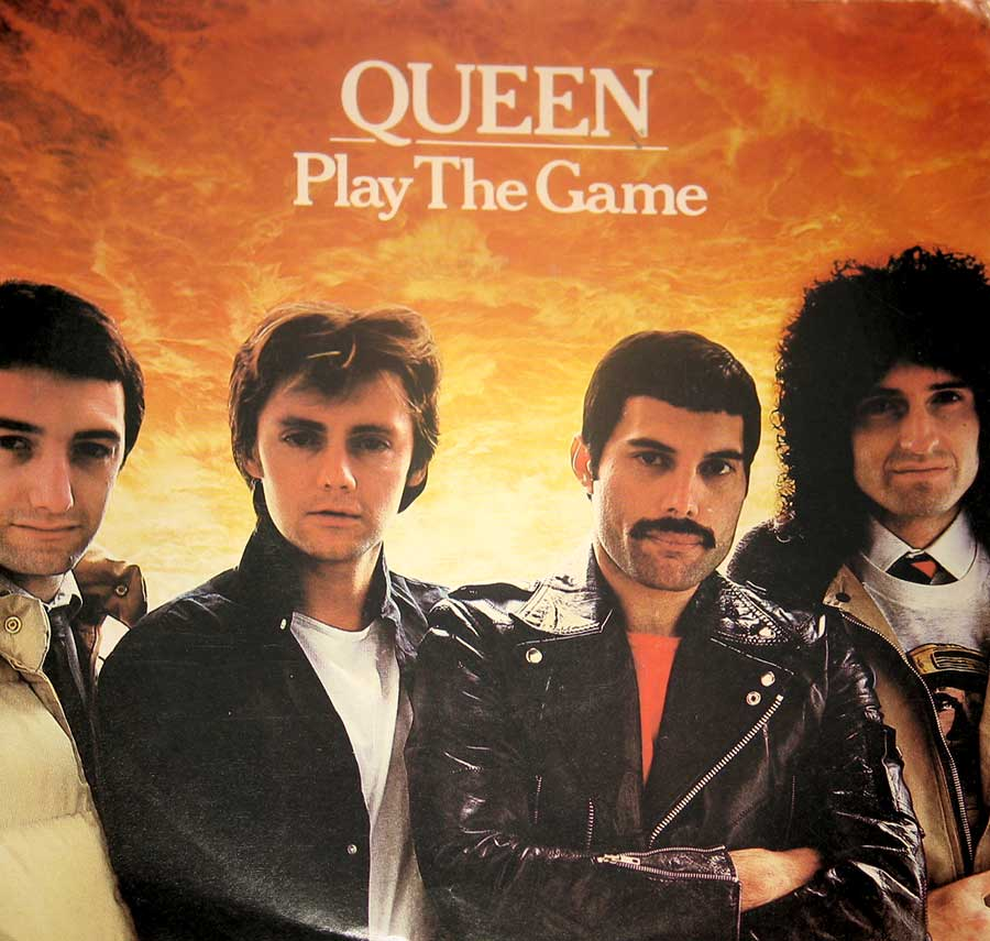 large photo of the album front cover of: QUEEN Play the Game
