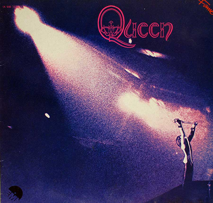 "QUEEN - Self-Titled First / Debut Album English 12"" VINYL LP ALBUM front cover https://vinyl-records.nl"