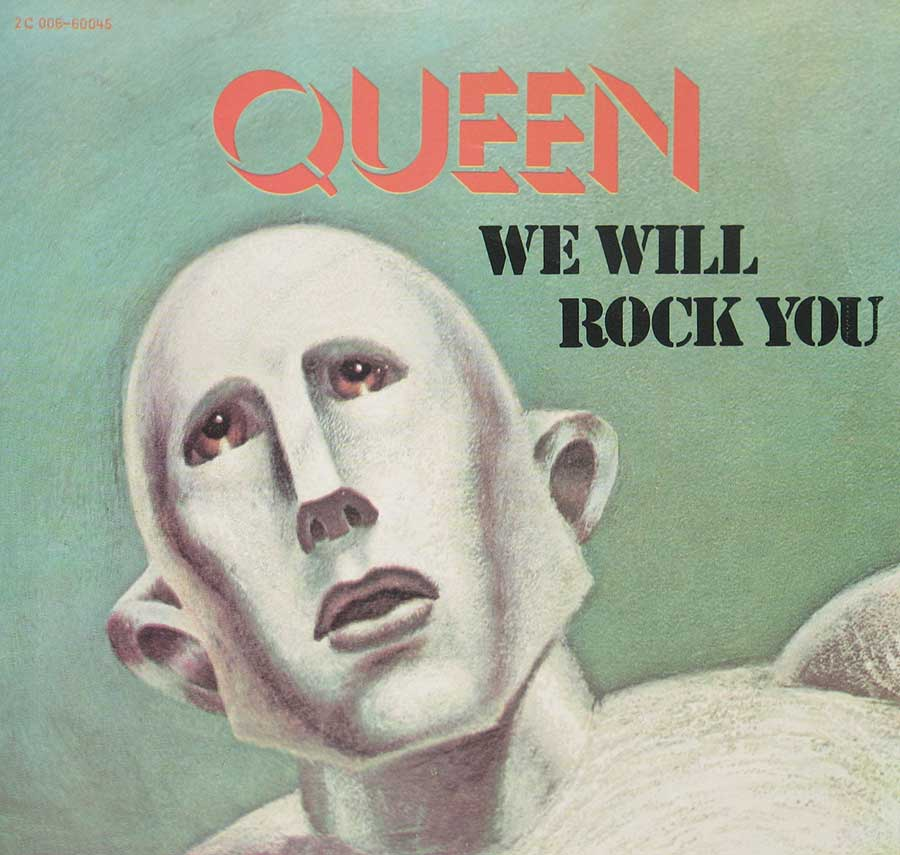 "Front Cover Photo Of QUEEN - We Will Rock You 7"" PS Single"