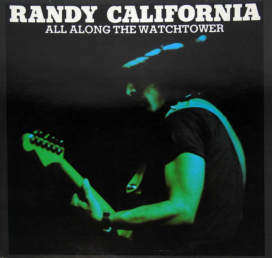 Front Cover Photo Of Randy California - All Along the Watchtower