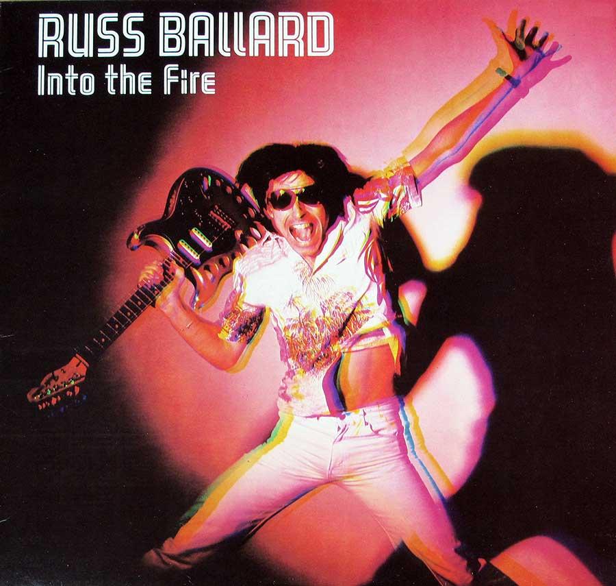 "RUSS BALLARD & BARNET Dogs Into The Fire 12"" LP VINYL ALBUM  front cover https://vinyl-records.nl"