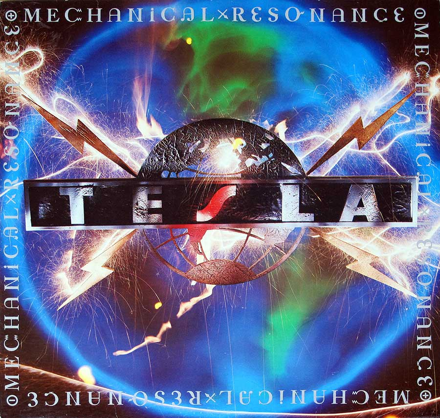 Front Cover Photo Of TESLA - Mechanical Resonance
