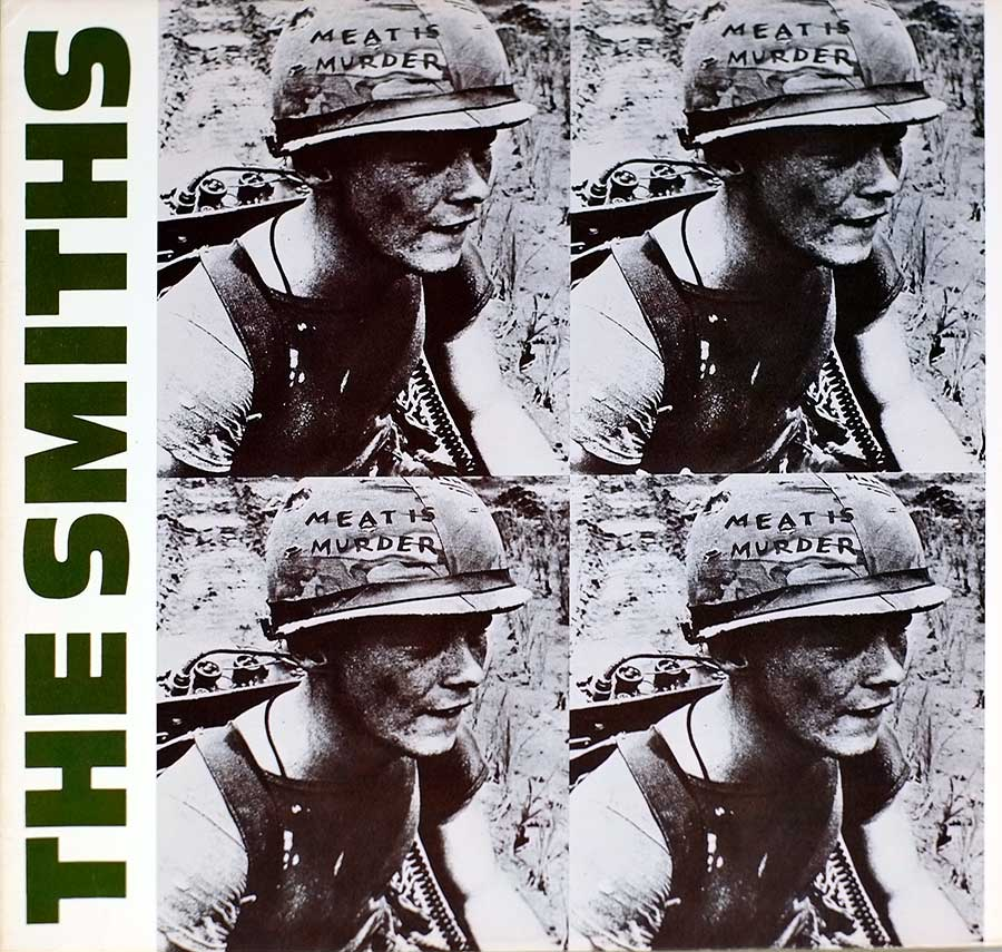 Front Cover Photo Of THE SMITHS - Meat is Murder
