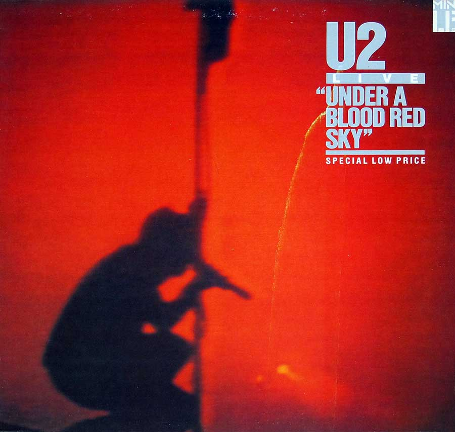 Front Cover Photo Of U2 - Live Under a Blood Red Sky ( Canada )