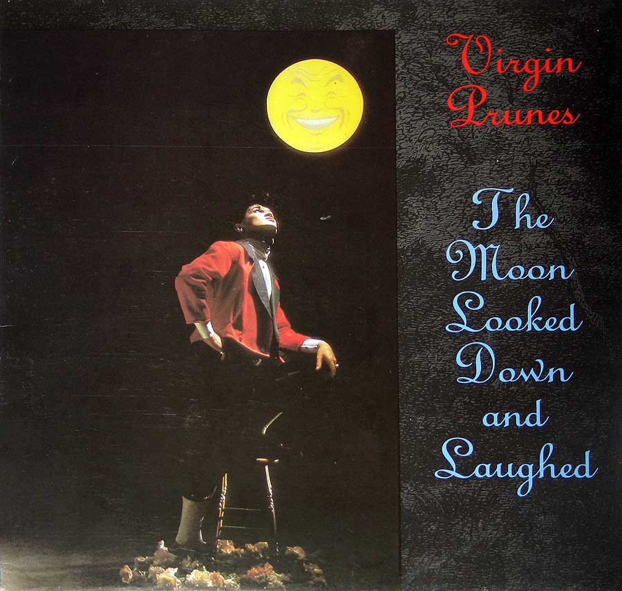 "Front Cover Photo Of VIRGIN PRUNES - The Moon Looked Down And Laughed 12"" Vinyl LP Album"