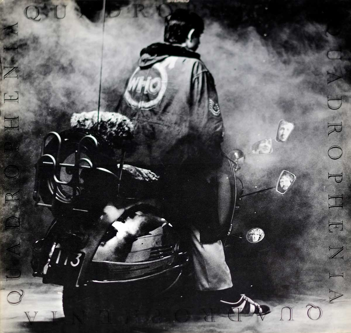 "large photo of the album front cover of: THE WHO - Quadrophenia Gatefold Cover USA Release 12"" LP VINYL Album"