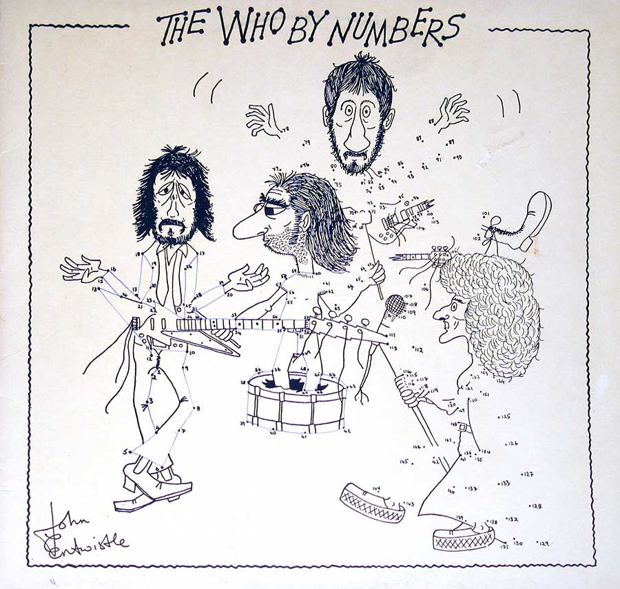 Album Front Cover Photo of The Who - By Numbers